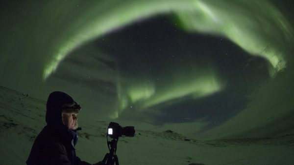 Photographing Northern Lights