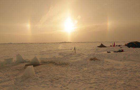 Sunrise at the North Pole