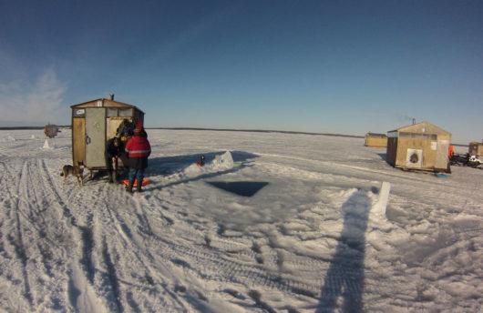 arctic dive site