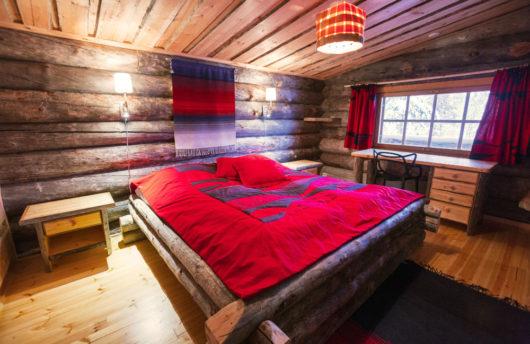 Kakslauttanen Westi Village large cabin bedroom 2