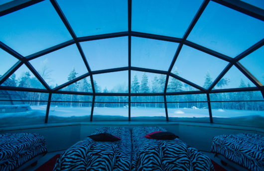 Stay In A Glass Igloo At Kakslauttanen Igloo Hotel Finland