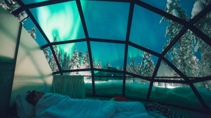 Awesome Glass Igloos In Finland Awesome Design