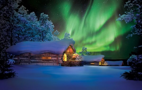 kelo glass igloo northern lights holidays at kakslauttanen igloo hotel. Black Bedroom Furniture Sets. Home Design Ideas