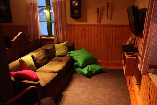 Room at Kangos Northern Lights Lodge