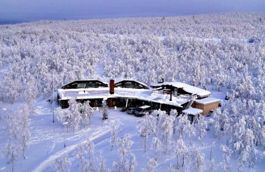 lodge-mattarahkka in Sweden