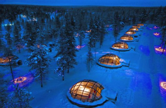Northern Lights Igloos