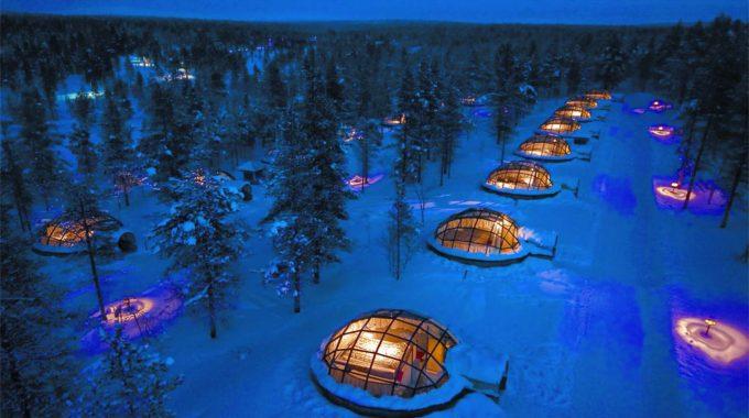 Northern Lights Igloo hotel