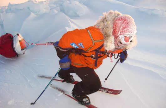 arctic trekking to the north pole