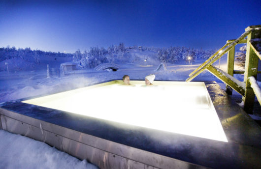 Arctic Spa Facilities Camp Ripan