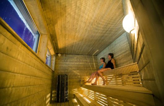 Arctic Sauna Facilities camp ripan
