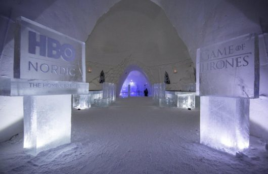 Snow Hotel Game of Thrones