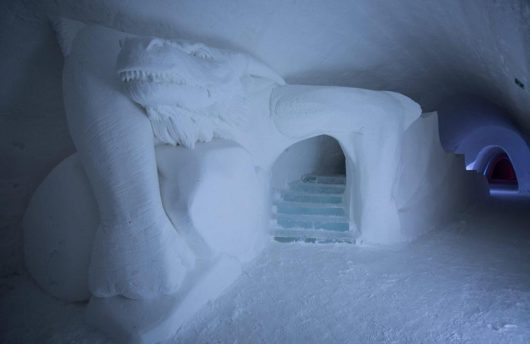 Game of Thrones Snow Hotel