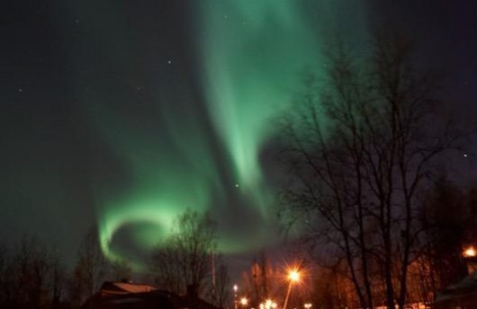 lights over kiruna