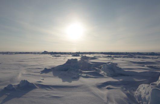 North Pole Scuba - ice and snow