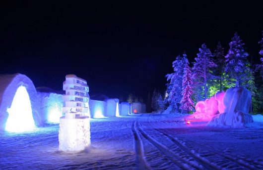 Snow Hotel in Finland