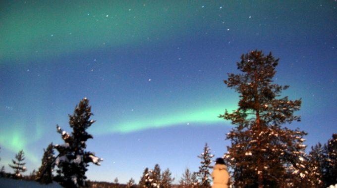 Northern Lights in Kiruna