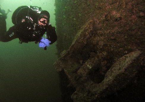 Norway scuba diving adventure - wreck diving