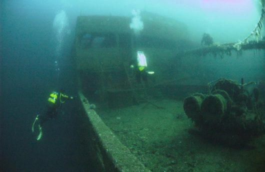 Norwegian scuba diving adventure