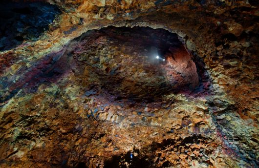 Icelandic cave system