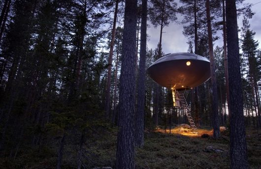 UFO Room at treehotel