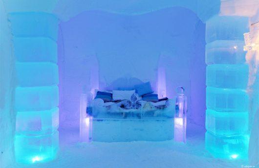 Ice room at Igloo Gotel
