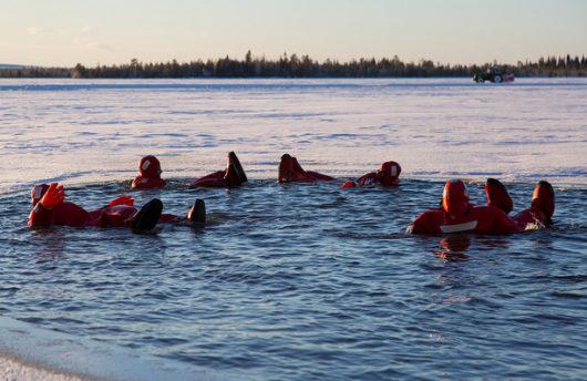 Ice Floating