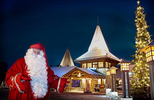 Meet Santa in Rovaniemi