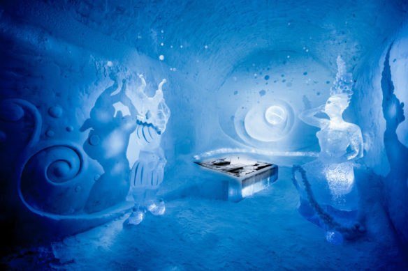Art Suite at Ice Hotel