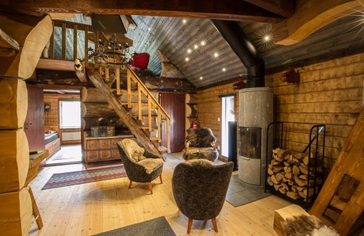 viking cabin living area