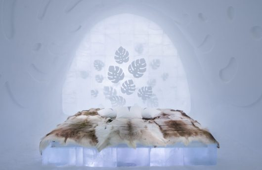 Art Suite at the Swedish Ice Hotel, Jukkasjärvi