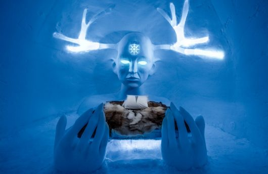Sweden Ice Hotel Art Suite