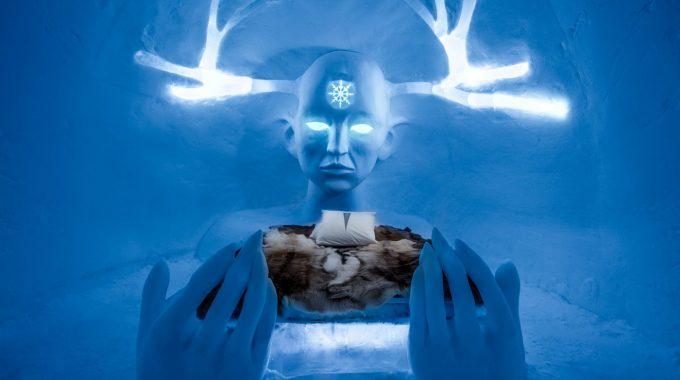 Sweden Ice Hotel Art Suite