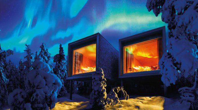 Arctic tree house hotel