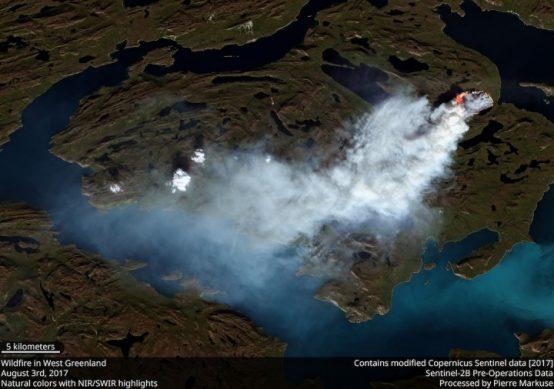 Greenland Fire