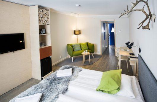 Kiruna Spa Hotel Room
