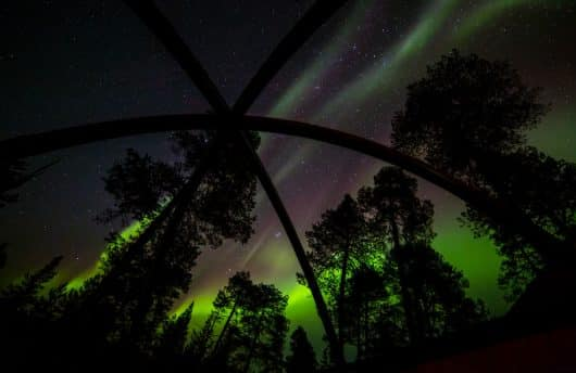 Aurora Bubble Northern Lights