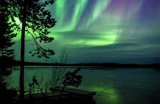 Peaceful Northern Lights