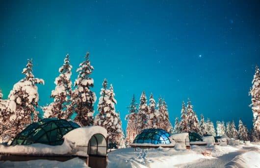 Kakslauttanen Igloo Lapland
