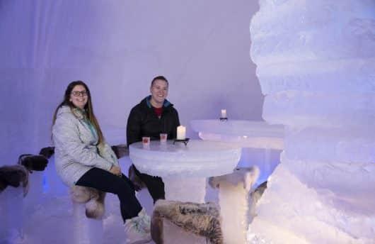 Ice bar at Igloo Ice hotel