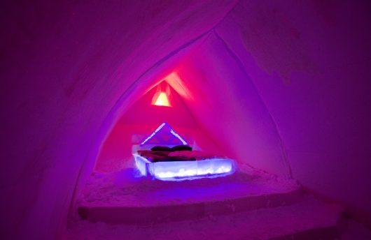 ice room for ice igloo stay