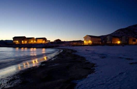 aurora norway Sommarøy Hotel