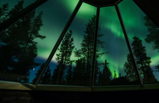 Northern Lights Viewing from Aurora Cabin