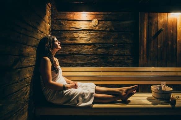 Sauna in the Arctic