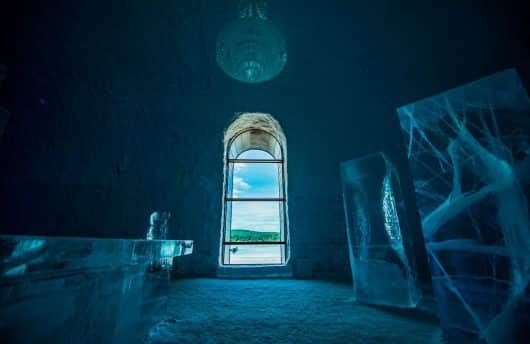 ICEHOTEL 365 in Summer, Sweden